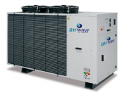 Packaged reversible air-cooled heat pumps and water chillers